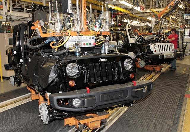 Inside Chrysler Group's Toledo (Ohio) Assembly Complex