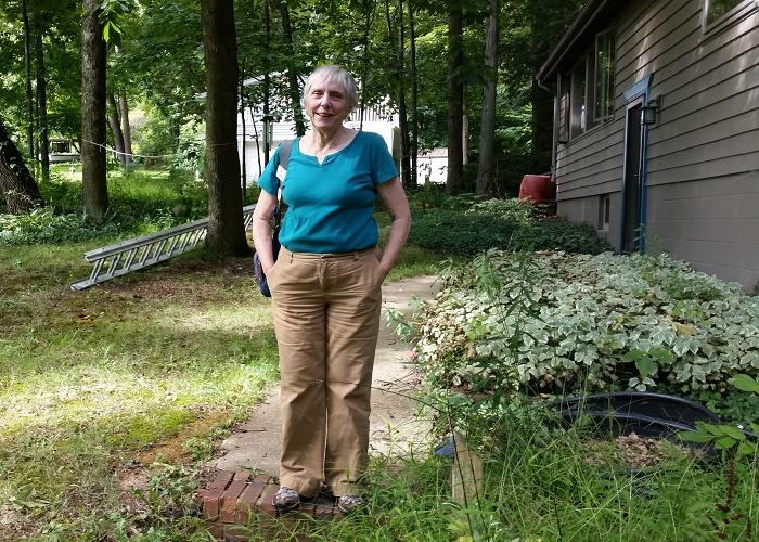 Retired university professor Gwen Fisher has become an activist because of her concerns about the impact of injection wells in Portage County, Ohio.