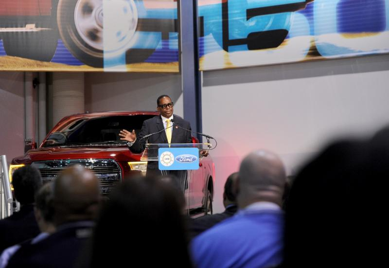 "Jimmy Settles, UAW vice president and director of the national Ford department said, ""today we celebrate the commitment to excellence that the hardworking men and women of the Rouge demonstrate every day."""