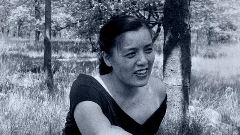A young Grace Lee Boggs.