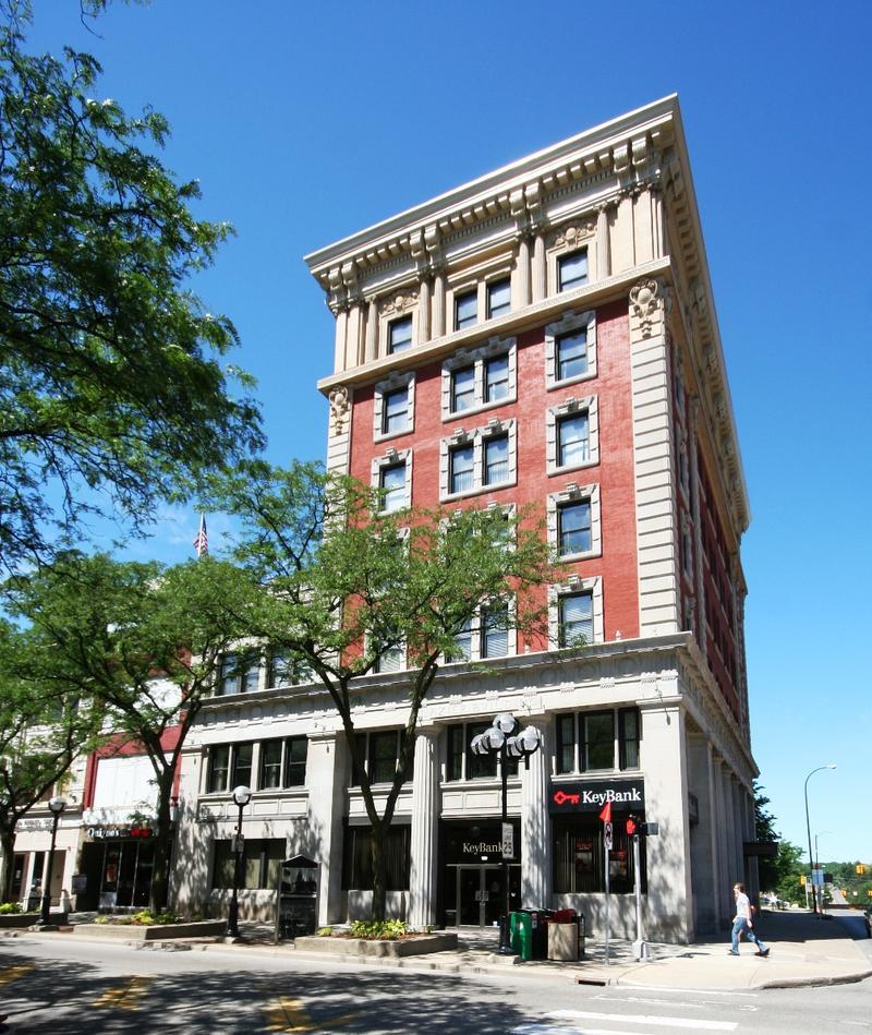 Key Bank building in Ann Arbor, MI
