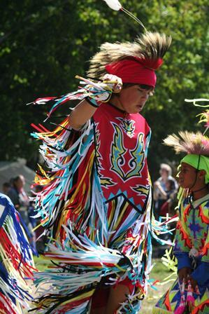 A tribal member of the Grand Traverse Band of Ottawa and Chippewa Indians.