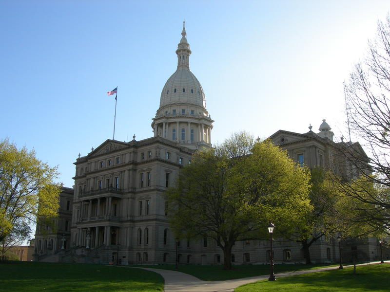 Michigan state capitol.