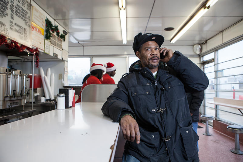 Alfred Horn has been coming to Sonny's Hamburger's in Brightmoor for more than 10 years.