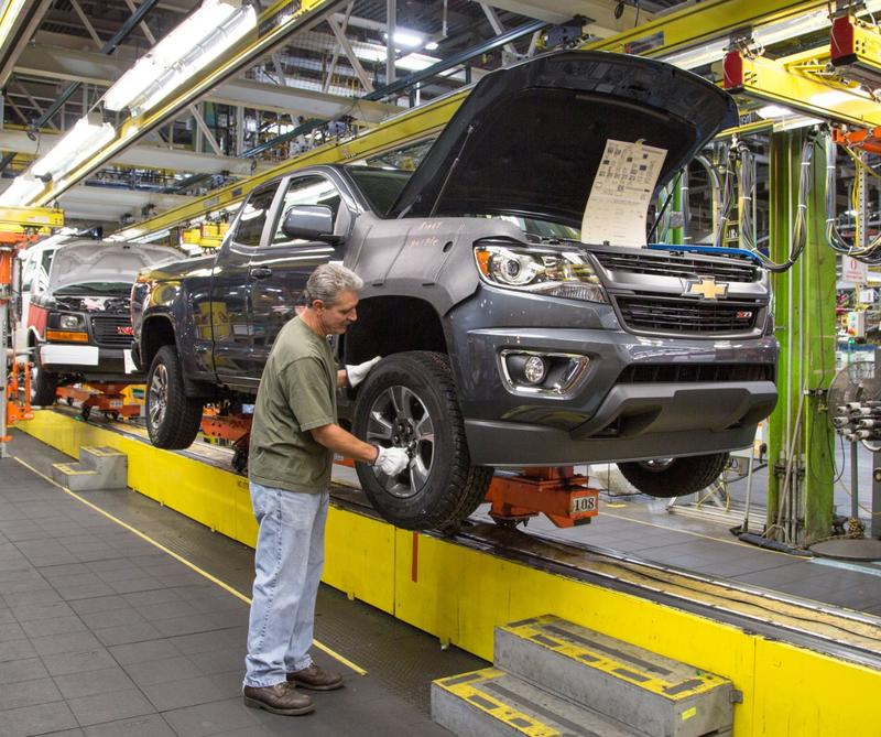 GM had an event-filled year. The company announced more shifts at assembly plants, like at this one - the Wentzville Assembly plant in Missouri. It also dealt with the fallout from the ignition switch recall.