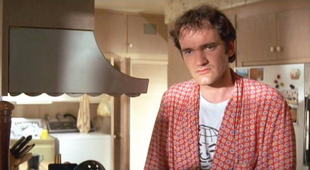 Quentin Tarantino wearing an Orbit shirt in Pulp Fiction