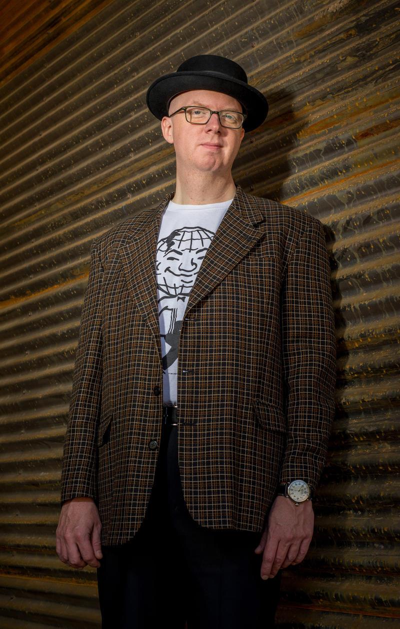 Author Rob St. Mary