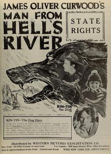 Promotional ad from The Man From Hell's River