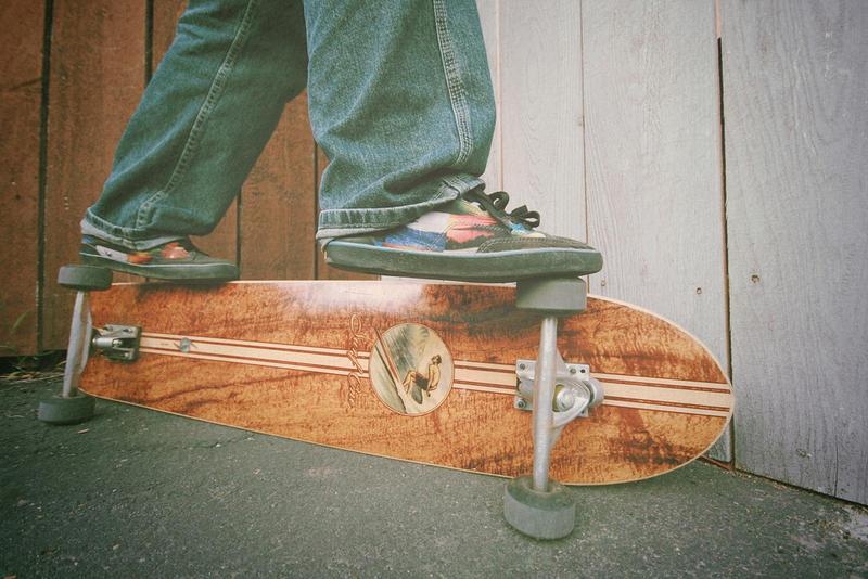 A long board.