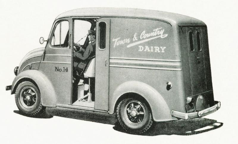 1949 Divco Delivery Truck Model UM-8E.