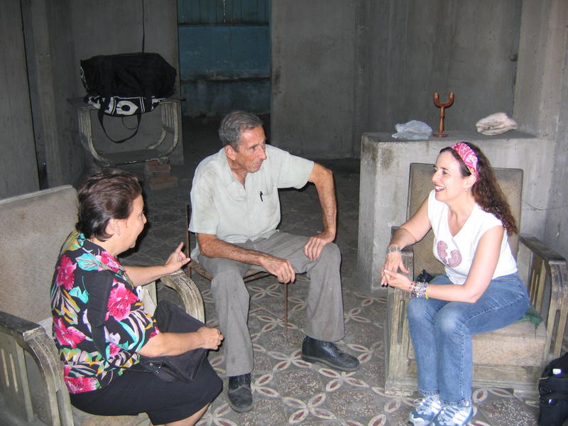 Behar at work in Palma Soriano, Cuba.
