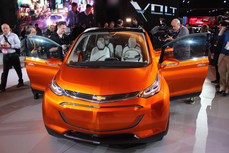 General Motors' Chevy Bolt is expected to be in showrooms by the end of the year.