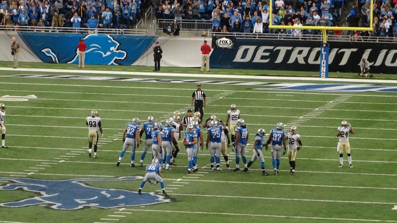 A Detroit Lions game.