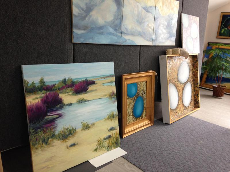 Margaret Tvedten uses the winter months to create the art work she sells in her gallery in the summer