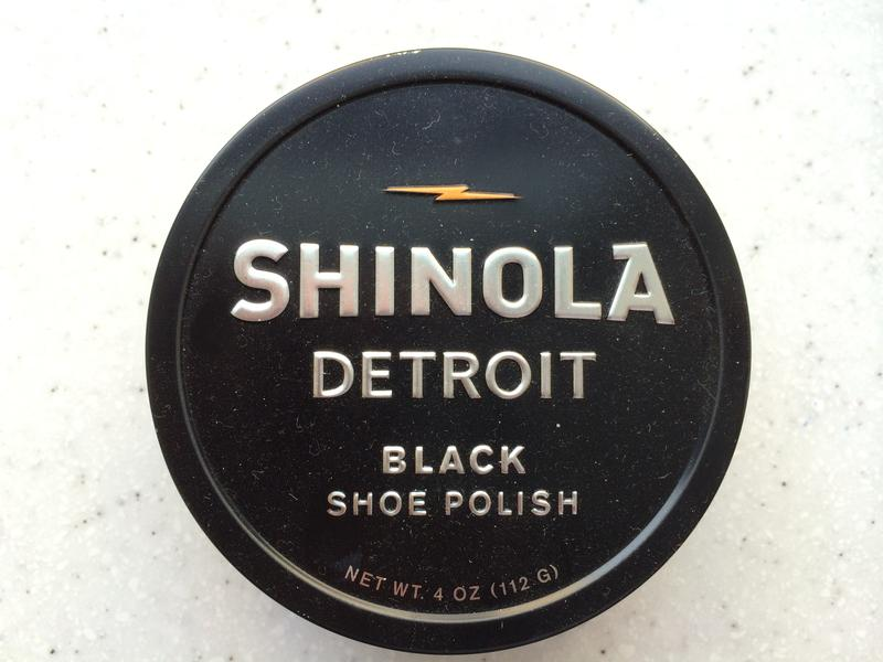 Shinoloa shoe polish.