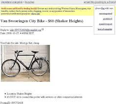 Craigslist Jackson Mi Bikes A listing for a bike for sale