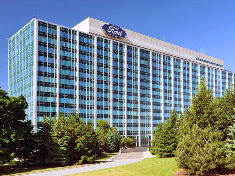 Ford Motor Company's headquarters in Dearborn.