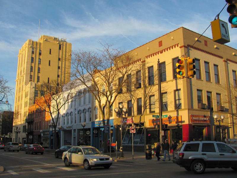 The Snyder's new block on Main Street in Ann Arbor.