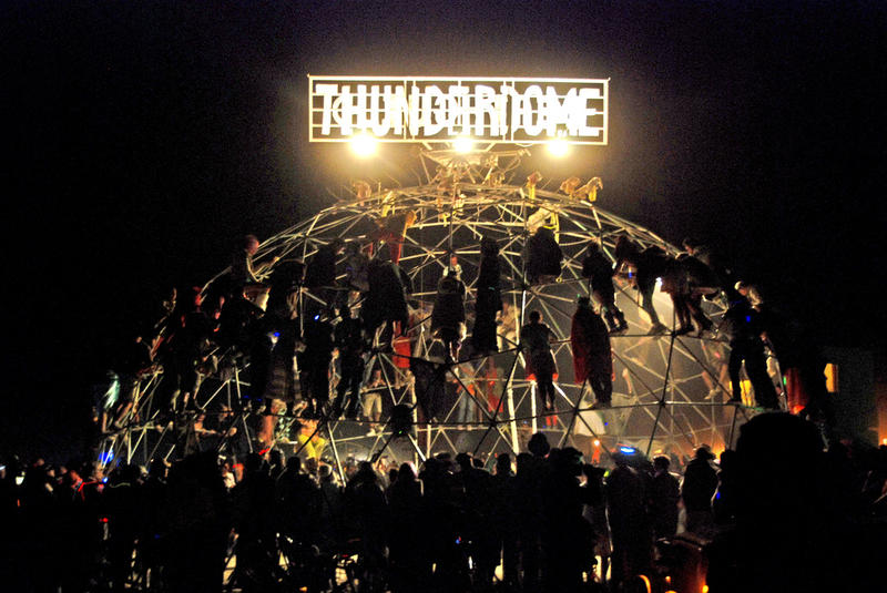 "The I-96/23 Interchange only approximates a ""Thunderdome."" To find the real thing, you would, of course, have to go Burning Man."