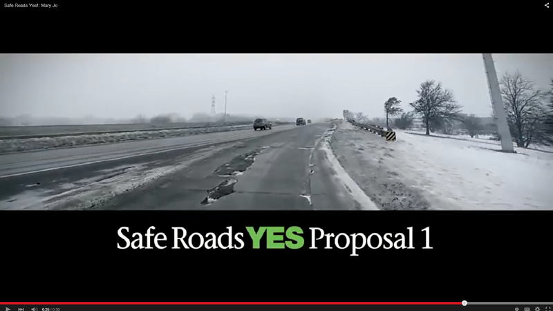 Despite a large percentage of voters seeing ads in favor of a 'yes' vote, most will vote 'no.'