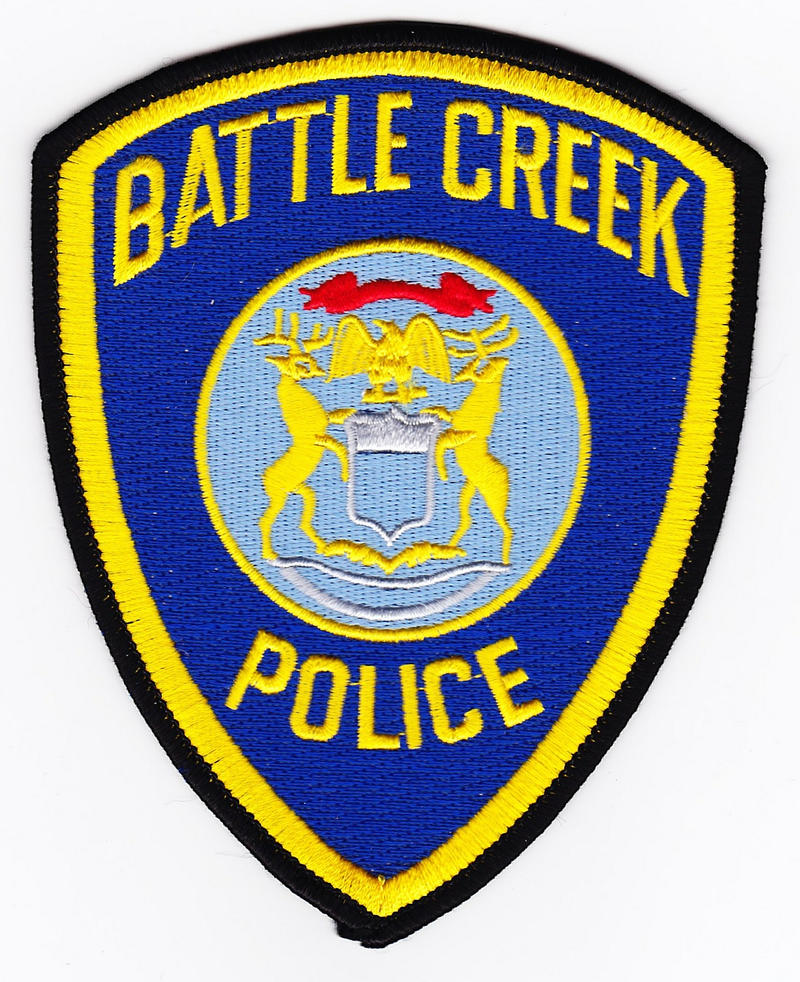 Battle Creek Police patch.