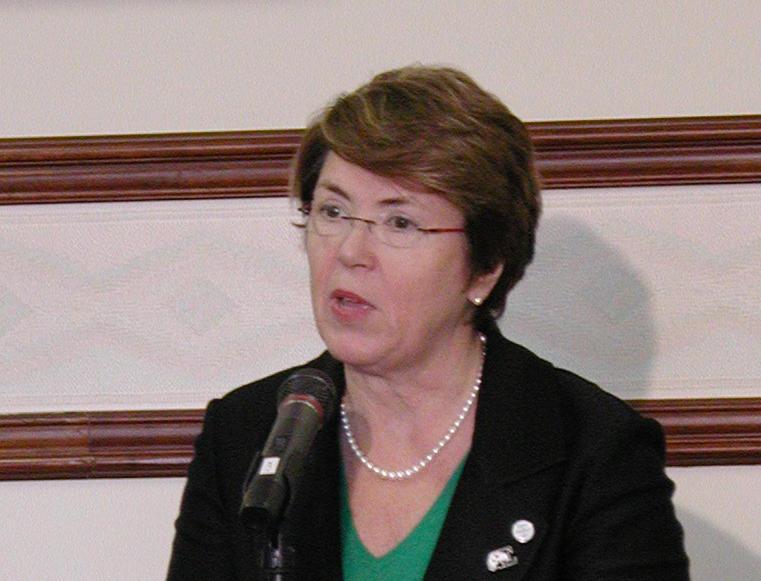 Susan Martin, EMU president.
