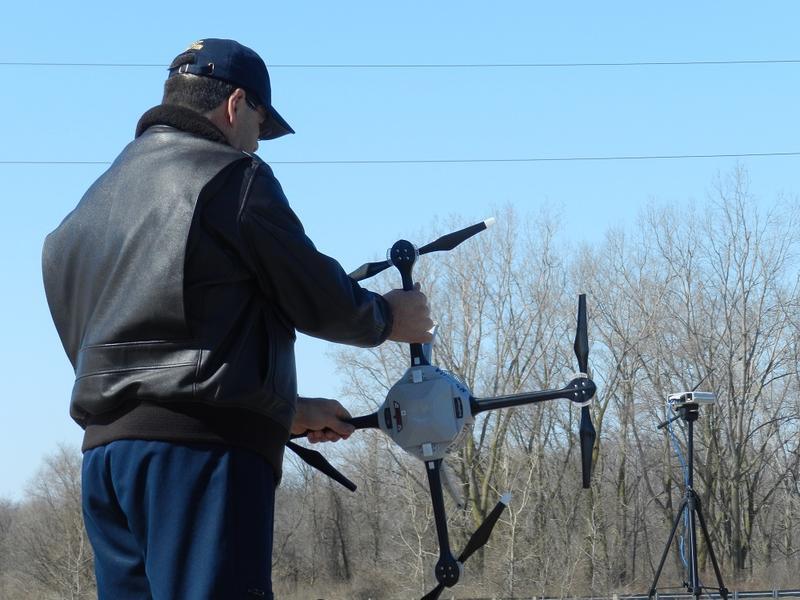 Michigan State Police drone