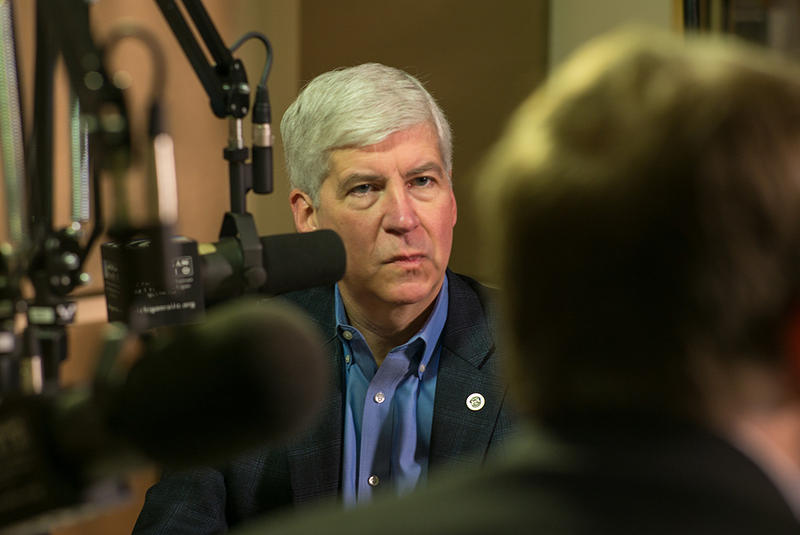 Gov. Rick Snyder takes questions from listeners on Michigan Calling.