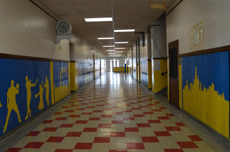Music can be heard in the halls of Woodbridge Community Center.