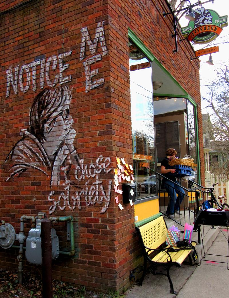 Girl Noticed is a nationwide charcoal mural project aimed at empowering women and valuing girls by recognizing their potential.