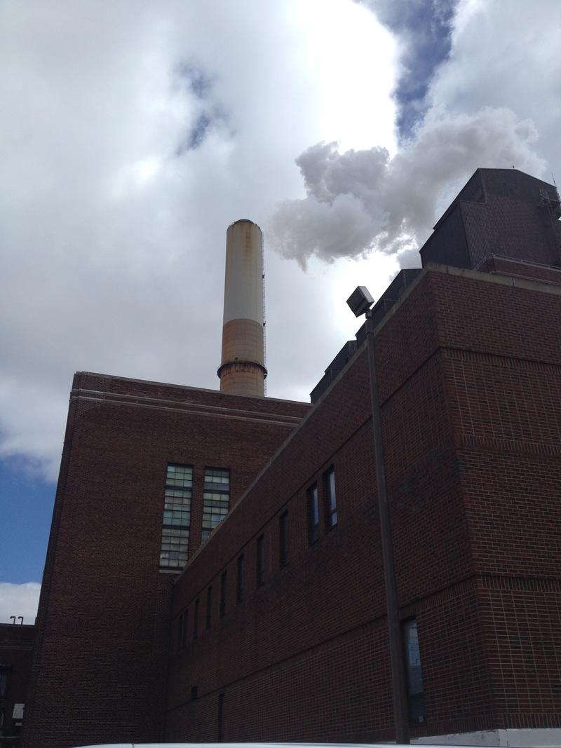 Cobb power plant in Muskegon, which shut down in April 2016