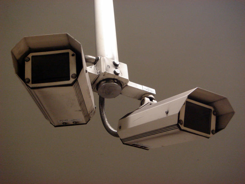 According to columnist Nancy Kaffer, there are now 500 security cameras operated by private security companies in the downtown Detroit area.