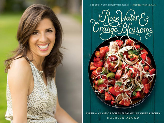 Food writer maureen aboods new cookbook celebrates lebanese maureen aboods new cookbook rose water orange blossoms forumfinder Images