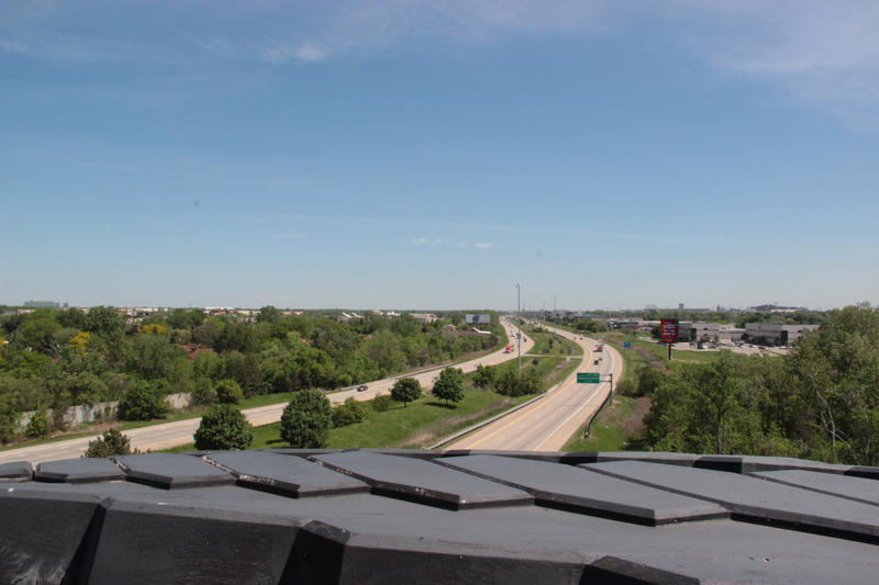 Looking east from on top of the Giant Tire.