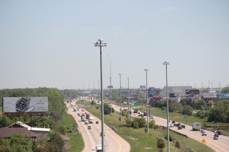 Another view looking east down I-94.