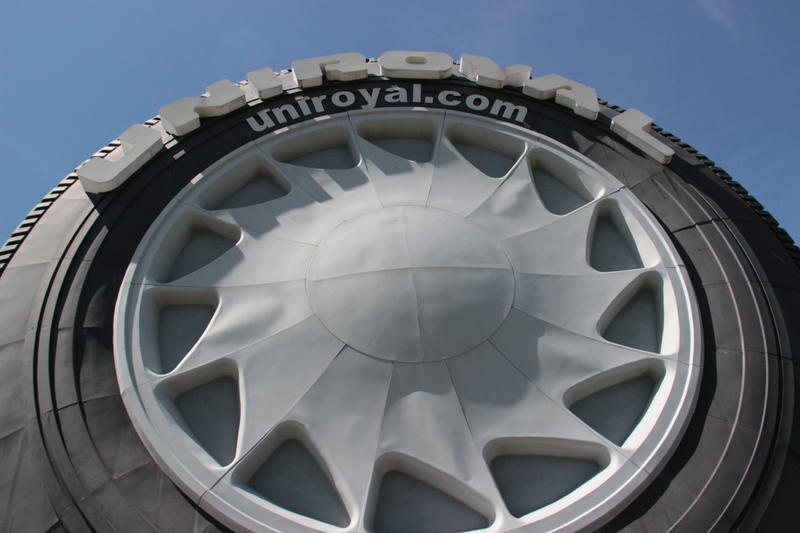 The 50-year old tire was last updated in 2003.