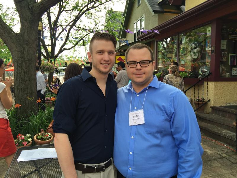 Nathan Fury and Brad O'Connor of Ann Arbor say they plan to marry in Michigan.