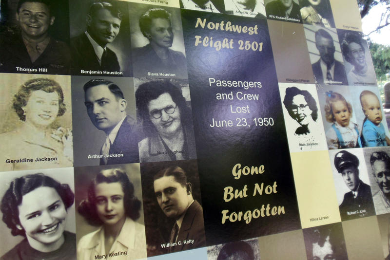 Photos of the 58 people on board the flight that crashed in 1950 somewhere in Lake Michigan.