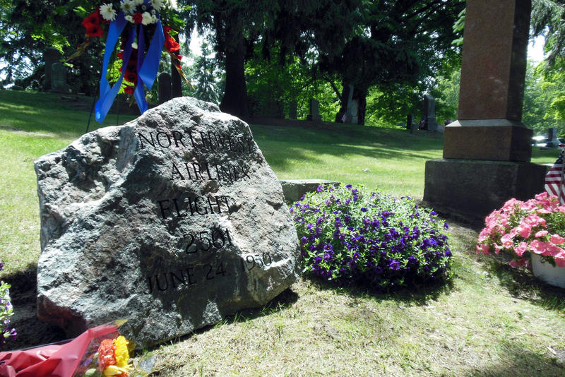 A new marker was place on the mass grave in South Haven.