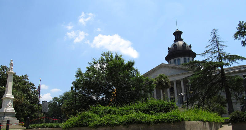 South Carolina legislature is debating whether to remove the Confederate flag outside the state capitol.