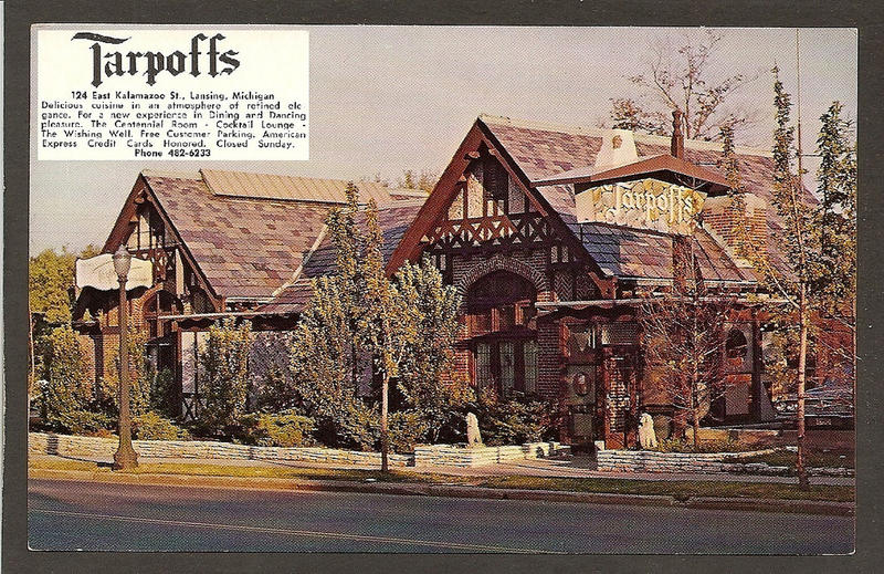 """A view of Lansing as it once was. The Historical Society of Great Lansing is offering a closer look of the once-popular Taroff's restaurant, along with about a dozen others, with a walking tour of  """"lost"""" restaurants this Saturday."""