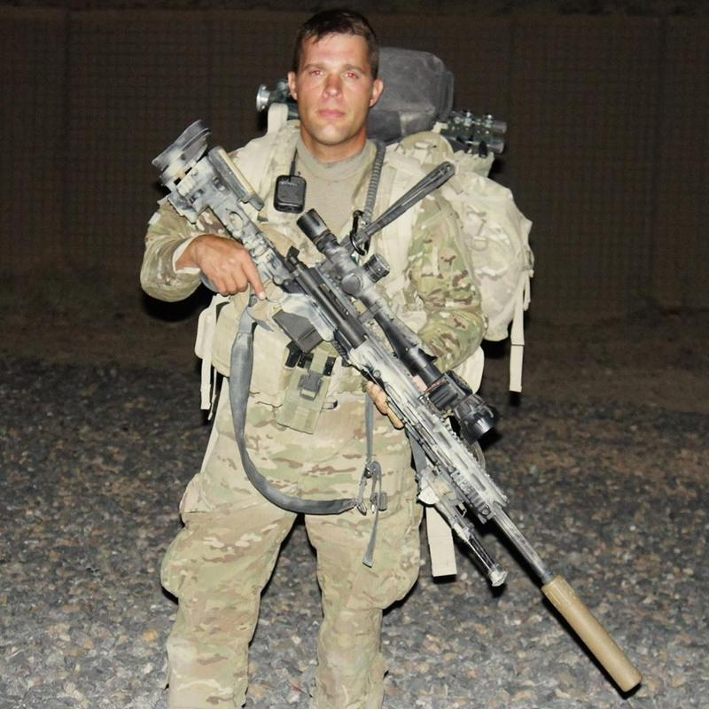 Jason Hale in Afghanistan