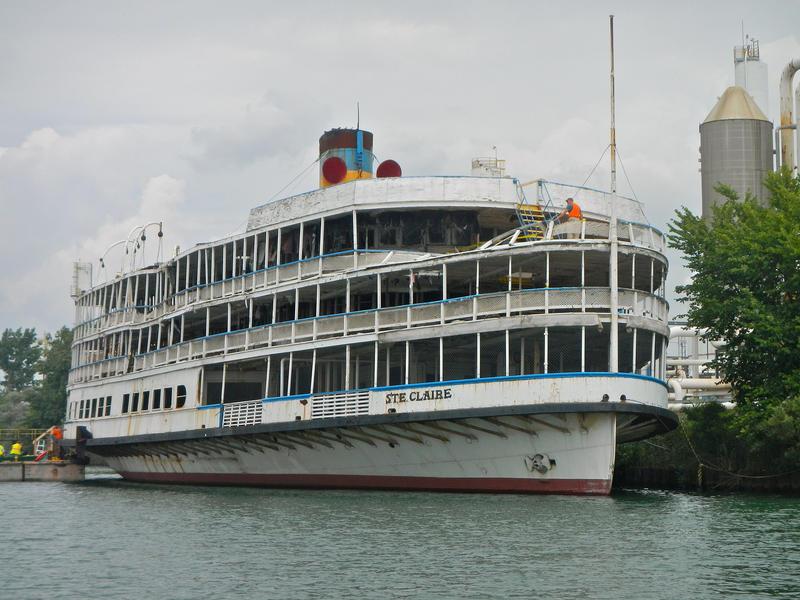 Boblo boat the SS Ste. Claire