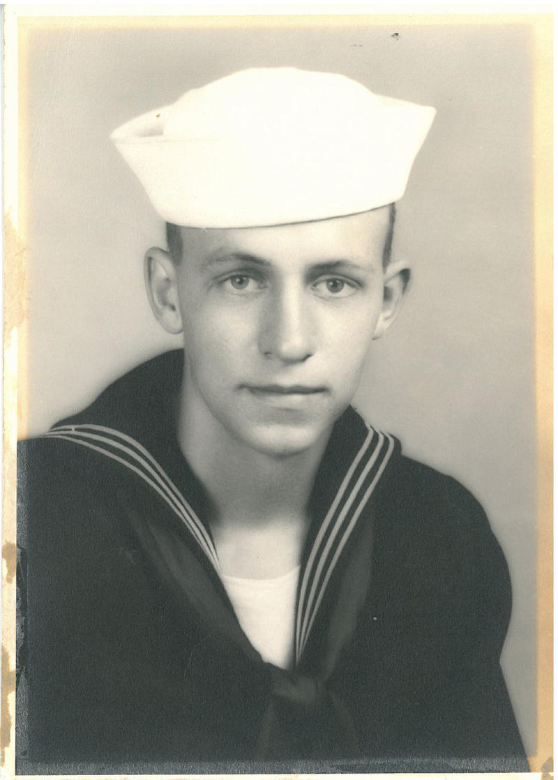 Bob Hinsdale at 17 years old.