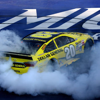 Matt Kenseth took the checkered flag in the Pure Michigan 400.