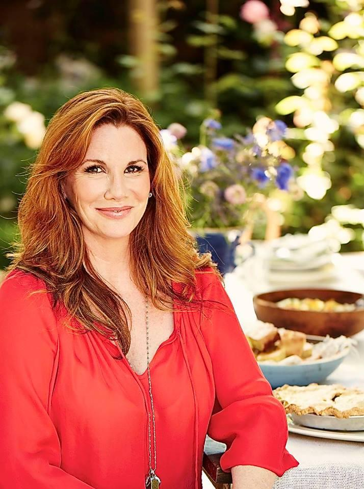 The photo Melissa Gilbert used in her announcement to run for Congress