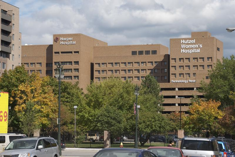 Detroit Medical Center, Harper Hospital and Hutzel Woman's Hospital.