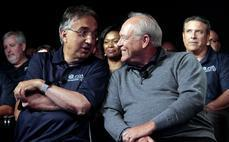 FCA CEO Sergio Marchionne and UAW President Dennis Williams