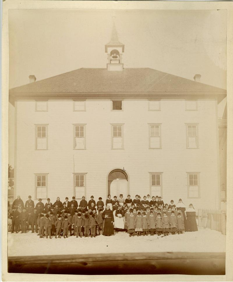 Holy Childhood boarding school circa 1893