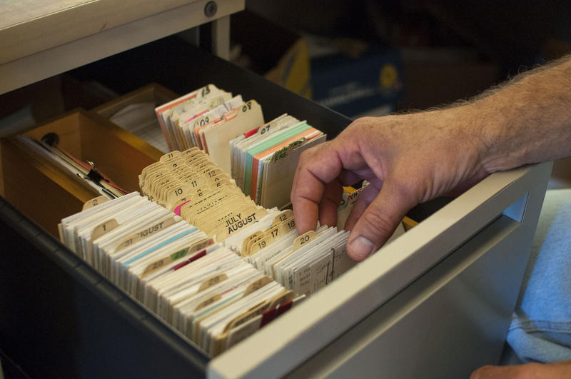 Walton Erickson Public Library in Morley, Michigan, is one of the only libraries left in the state with a physical card catalog.